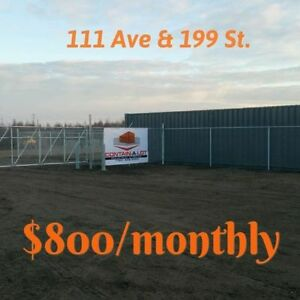 Fenced YARD in Winterburn on Henday $800!!!!!