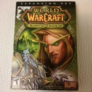 EXPANSION SET WORLD OF WARCRAFT THE BURNING CRUSADE FOR PC