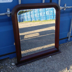Cherry stained Solid Wood Mirror