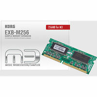256MB Sample Memory Expansion for KORG M3 PA3x PA2x EXB-M256