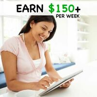 Work From Home - Earn Online TODAY!