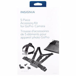Insignia 5-Piece Accessory Kit for GoPro