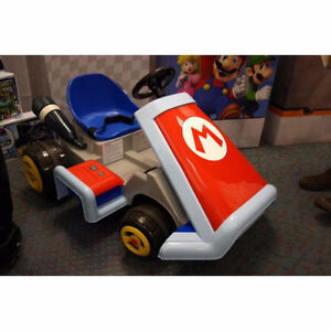 The Mario Kart Ride On Deluxe - 6v