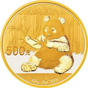 pièce en or/gold bullion Panda 2017 3 gram.9999 24K