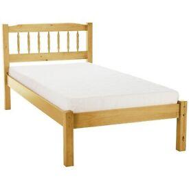 brand new santos antique pine and mattress