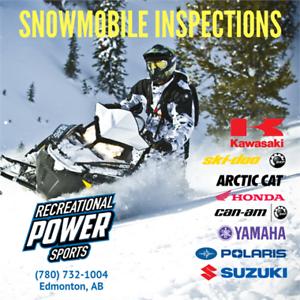 Snowmobile Inspection Package
