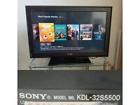 Sony KDL32S5500U 32-inch Widescreen HD Ready LCD TV with Freeview