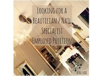 Beautician Wanted
