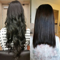 HAIR EXTENSIONS (Tape, Fusion, Microlink) starting at $289