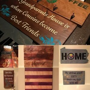 Custom Home Decor, Signage, Cutting Boards - Dogwood Designs