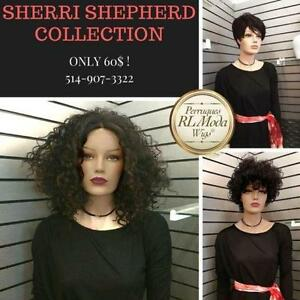Sherri Shepherd Wig Collection Perruques
