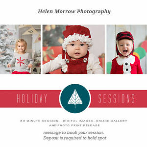 Christmas Mini Sessions Kingston Kingston Area image 1
