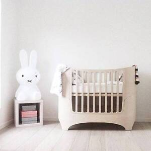 """LEANDER """"whitewash"""" baby cot toddler junior bed bumper and stokke Killarney Heights Warringah Area Preview"""