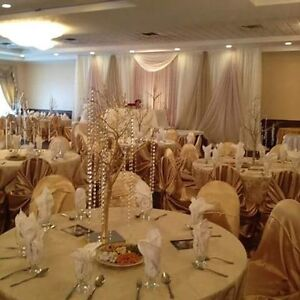 Beautiful banquet hall for all your memorable occasions