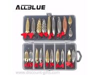 Allblue Mixed Colours Fishing Lures