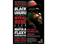 Tickets for Sounds of Black Uhuru with Mykal Rose