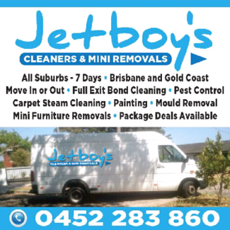 JETBOY'S CLEANING & MINI FURNITURE REMOVAL SERVICE