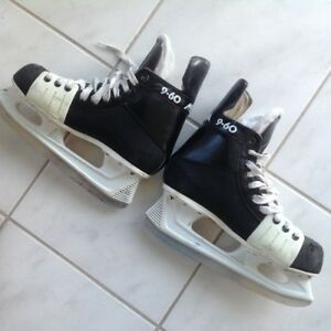 "SKATES---""MICRON 9-60""---in great shape- skates are like new-$20"