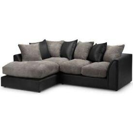 Amazing New Colours- Brand New Byron Sofa Jumbo cord fabric -- Corner or 3 + 2 Sofa Sets Available