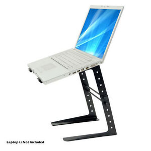 LAPTOP COMPUTER STANDS FOR DJ WITH & WITHOUT STORAGE