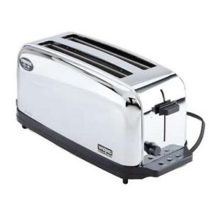 Waring WCT704 4 Slice Commercial Toaster *RESTAURANT EQUIPMENT PARTS SMALLWARES HOODS AND MORE*