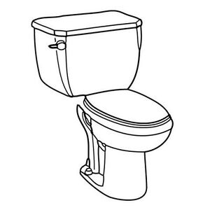 $250 for High Efficient Toilet Installed & Old Toilet Disposal Windsor Region Ontario image 1