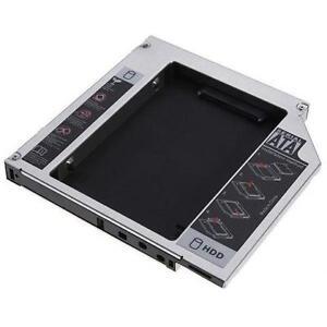 Laptop DVD to SATA 2nd HARD DRIVE Universal Caddy Adapter 12.7mm