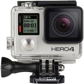 Go Pro HERO 4, silver edition (with its own WiFi)- only used a handful of times