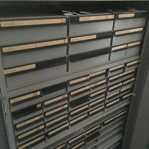Storage Drawers, Small metal (Parts Bins)