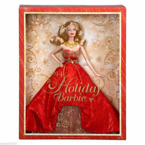 Barbie Collector 2014 Holiday Doll, NEW in box