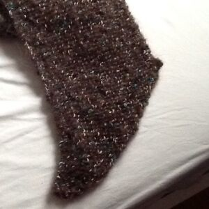 Just completed, knitted beret and scarf Kitchener / Waterloo Kitchener Area image 3
