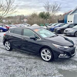 2018 Chevrolet Cruze RS Premier HB w backup cam/heated seats
