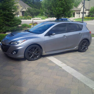 2013 Mazda MAZDASPEED3 Technology Package Hatchback