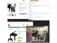 Child's grand piano