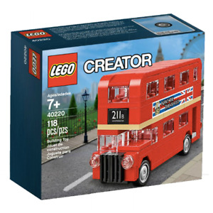 Lego Creator Mini London Bus 40220 BNIB