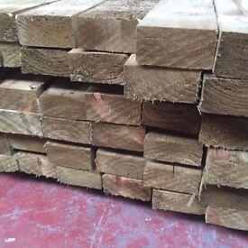 🌟 Pressure Treated Timber / Wood (4 x 2) 100mm x 47mm x 3.6m