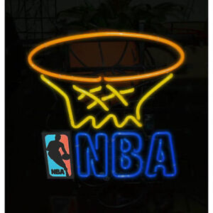 NEW in BOX - NBA neon sign