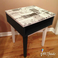 ONE OF A KIND WHIMSICAL FARSIDE TABLE