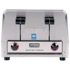 Waring WCT800RC Heavy Duty 4 Slice Commercial Toaster 120V *RESTAURANT EQUIPMENT PARTS SMALLWARES HOODS AND MORE*