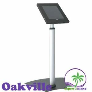 PYLE PSPADLK55 Tamper-Proof Anti-Theft Security Floor Stand Holder w/Adjustable Height for iPads 2 /3 /4