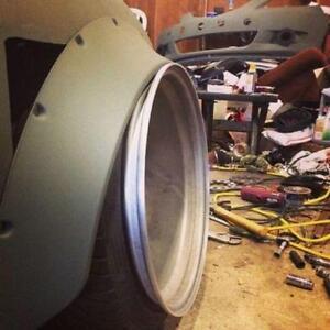 Fender Flare Universel  A Vendre $650, 10cm de large, BEAU LOOK!
