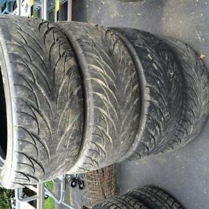 4 pneus 225/55/17 été Defender