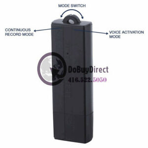 USB Voice Activated Audio Recorder / 5-25 Days Battery Life - 8G