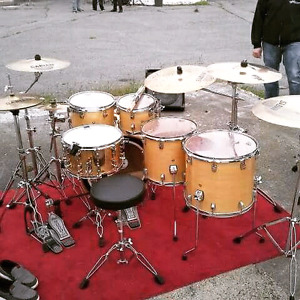 Ludwig Centennial Maple shell pack 600