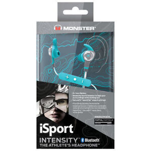 Monster iSport Intensity In-Ear Sound Isolating Bluetooth
