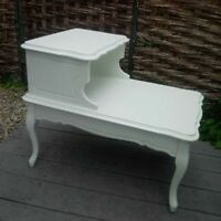Antique Shabby Chic End Table