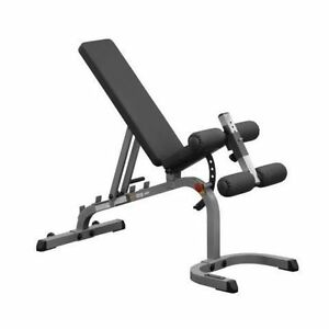 Body Solid Heavy Duty Adjustable Bench + Leg Extension/Leg Curl