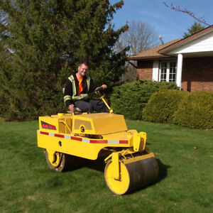 LAWN ROLLING - AERATING - DETHATCHING - PACKAGE 289-697-3285