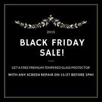 ***Black Friday Special/ Reparation LCD iPhone 6/6+. 5/5S/5C 4S