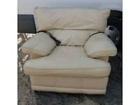 Leather Electric Reclining Arm Chair must go today